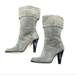 MICHAEL KORS Knee High Boots Embellished Size 8M